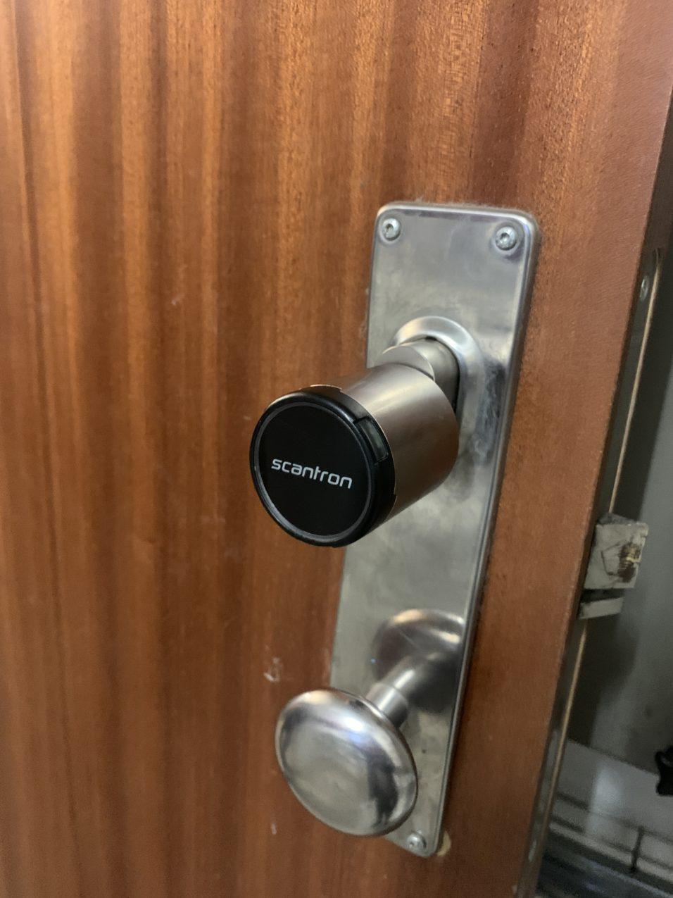 Elektronisk adgangskontrol fra Scantron